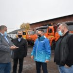 В Киселёвске подготовили машины к зиме