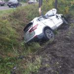 Обгон не удался: в Анжеро-Судженске водитель с двумя детьми врезался в опору ЛЭП
