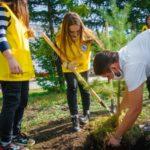 Юрга и Анжеро-Судженск присоединились к проекту «Мой зелёный двор»
