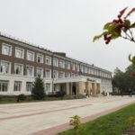 24 сосны высадили лесники возле 21-й гимназии в Кемерове