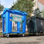 В Кемерове устанавливают современные контейнеры для раздельного сбора бытовых отходов