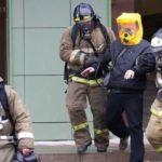 Сегодня на пожаре в Юрге спасли мужчину