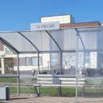 В Юрге райтеры портят новые остановочные павильоны