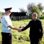 В Прокопьевске полицейский с другом спас людей из горящего дома