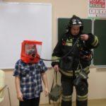 В Осинниках прошли пожарные учения для школьников и педагогов