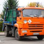 В Юрге появился необычный мусоровоз