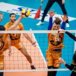 Волейбольный «Кузбасс» одержал первую домашнюю победу в новом сезоне