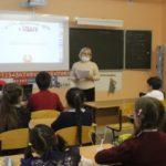 В Беловском районе детей научили, как правильно добираться до школы