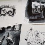 В Кузбасском центре искусств состоится выставка рисунков врача из ковидария