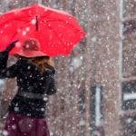 Новая неделя в Кузбассе начнётся с дождя и снега