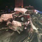 В Юргинском районе погиб водитель автомобиля на буксире