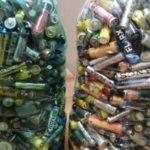 Мысковчане собрали килограммы отработанных батареек
