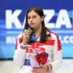 Кузбасская спортсменка завоевала две медали на чемпионате России по плаванию