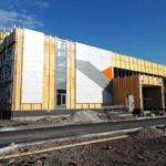 В Белове строительство автовокзала вышло на завершающую стадию