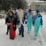 Главный Дед Мороз Кузбасса попробовал в Мысках курмек