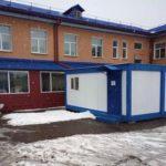 У кузбасской больницы поставили модульный пункт ожидания