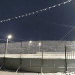 В Тайге пролился свет на хоккеистов