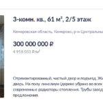 В Кемерове выставили на продажу квартиру за 300 миллионов рублей