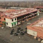 Инфекционную больницу в Новокузнецке строят круглосуточно