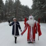 К детям из кузбасской глубинки добрался Дед Мороз