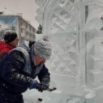 В Белове мастера готовят 350 ледяных плит