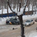 В Кемерове произошло тройное ДТП с участием такси