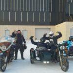 В Кузбассе байкеры поздравили земляков с наступающим Новым годом
