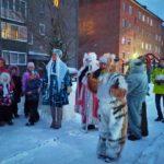 Город Полысаево присоединился к уличному фестивалю «Арт-ёлка»