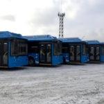 Новые городские автобусы прибыли в Кемерово