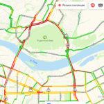 Кемерово встал: на Кузбасском мосту столкнулись пять машин, в их числе — скорая помощь
