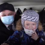 Кузбасское МЧС осуществило мечту шестилетнего мальчика