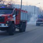 Кузбасским пожарным вручили новую технику
