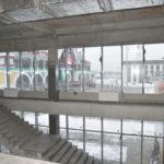 В Белове строительство автовокзала вышло на финишную прямую