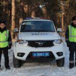 Полицейские Гурьевска спасли автолюбителя от смерти в лесу