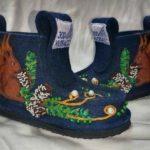Костюмер из Полысаева придумала концептуальный эскиз для обуви