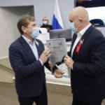 Губернатор Кузбасса Сергей Цивилев наградил ударников труда