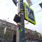 В Новокузнецке вандалы уничтожили светофоры на трех перекрестках