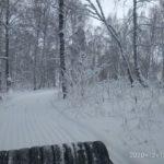 В Кузбассе энтузиасты восстановили лыжную трассу
