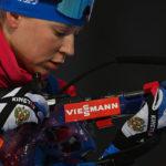Кузбасская биатлонистка стала обладательницей «золота» на этапе Кубка мира