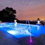 Освещение искусственных водоёмов, фонтанов и бассейнов