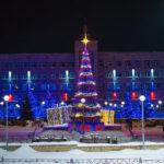 Самая красивая ёлка Кузбасса находится в Юрге