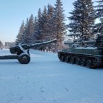В Тяжинский округ доставили военную технику