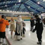 Главный кузбасский Дед Мороз поздравил хоккеистов «Кузбасса»