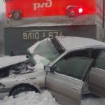 В новом году на железнодорожных переездах Кузбасса случилось два ДТП