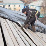 В Кузбассе рухнула крыша четвертого за неделю дома