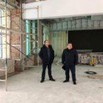В посёлке Малиновка продолжается ремонт школы №30