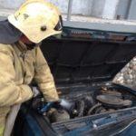 С начала года в Кузбассе горело 16 автомобилей