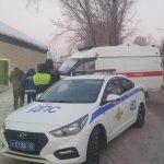 Новокузнецкие автоинспекторы спасли человека от переохлаждения
