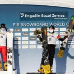 Кузбасский сноубордист вышел на первое место в общем зачете Кубка мира