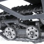Как натянуть гусеницу на снегоходе «Рысь»